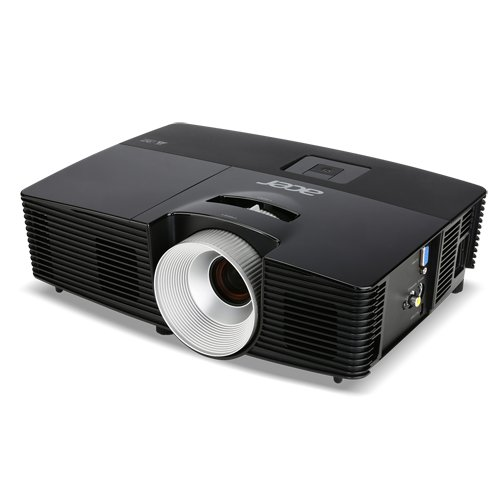 Acer X113 DLP-Projektor (3D, SVGA, Kontrast 13.000:1, 800 x 600 Pixel, 2.800 ANSI Lumen, VGA) schwarz