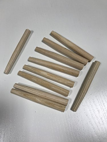 10 Stück Heuharkenzinken L x Ø: 11 x 1,2 cm Zinken für Heuharken (Zinke, Zinken,Heuharkenzinken, Heuharkenzinke für Heuharke) Rechen Garten Beet Heu