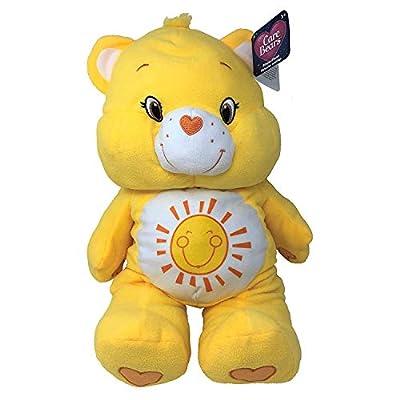 "Care Bears 24"" Pillow Plush Stuffed Animal, Funshine Bear (Yellow)"