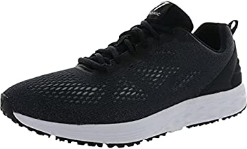 Vionic Men's Fulton Tate Sneakers - Walking Shoes with Concealed Orthotic Arch Support Black 9 M US