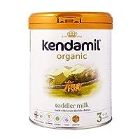 (2x800g) Kendamil Organic Toddler Milk, Stage 3 – British Made, Organic Whole Milk Formula – with HMOs, No Palm Oil, No Fish Oil, No SOYA, No GMOs