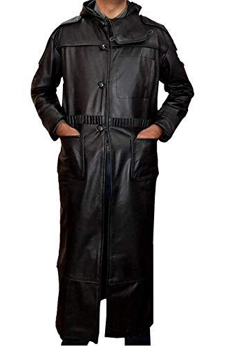 STB-Fashions Blade Runner Roy Batty Trench - Disfraz de trinchera, color negro