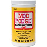 Mod Podge CS11303 Waterbase Sealer, Glue & Decoupage Finish, 32 oz, Matte