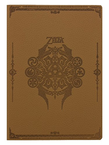 The Legend Of Zelda SR72521 Notizbuch, A5, Sage Symbols Flexi-Cover