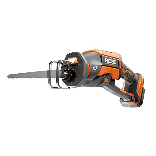 Check Out This Ridgid 18-Volt Octane Cordless Brushless One-Handed Reciprocating Saw (Tool Only) R86...