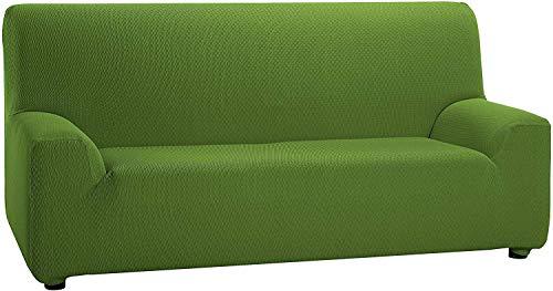 Martina Home Tunez - Funda elástica para sofá, Verde, 3 Plazas (180-240 cm)