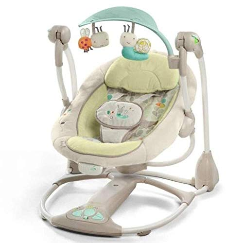 Best Deals! RENKUNDE Baby Rocking Chair Baby Bouncer Chair Electric Intelligent Swing Music Rattles,...