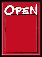 マジカルボード OPEN横 赤地 Lサイズ No.25737 (受注生産) [並行輸入品]