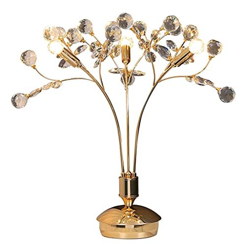 Lampara Mesilla Moderna lámpara de mesa de cristal dormitorio mesita de noche...