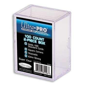 Price comparison product image Ultra Pro 100-count 2-Piece Case