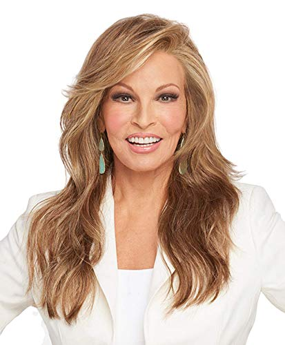 MILES OF STYLE Synthetic Lace Front Mono-Top wig 5PC Bundle: Wig by Raquel Welch, 4oz Mara Ray Luxury Shampoo and Conditioner, 2-Wig Caps,19 Page Belle of Hope Guide (SS14/88)