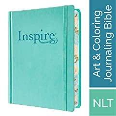 Inspire Bible NLT The Bible for Creative Journaling