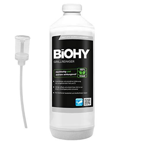 BiOHY Limpiador de parrillas (1 botella de 1 litro) + Dosificador  ...