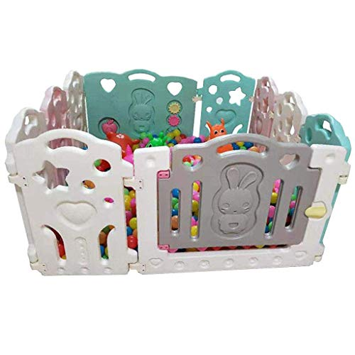 Relaxbx Baby Fence Children 'S Play Fence Intérieur Maison Bébé Toddler Safety Fence Fence Crawling Play Play Fence