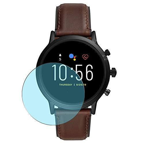 Vaxson 3-Pack Anti Luce Blu TPU Pellicola Protettiva, compatibile con FOSSIL Gen 5 Smartwatch The Carlyle HR FTW4026, Screen Protector Film [ Non Vetro Temperato ]
