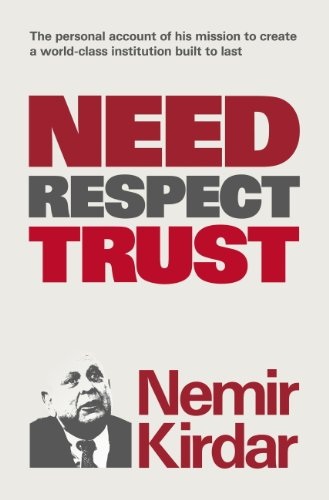 Need, Respect, Trust: The Memoir of a Vision (English Edition) PDF Books