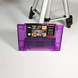 Super 110 in 1 Game Cartridge battery save With Chrono Trigger Zeldaed a link to the Past Soul Blazer SuperMario World Turtle