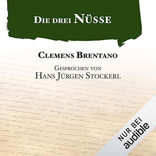 Die drei Nüsse audiobook cover art