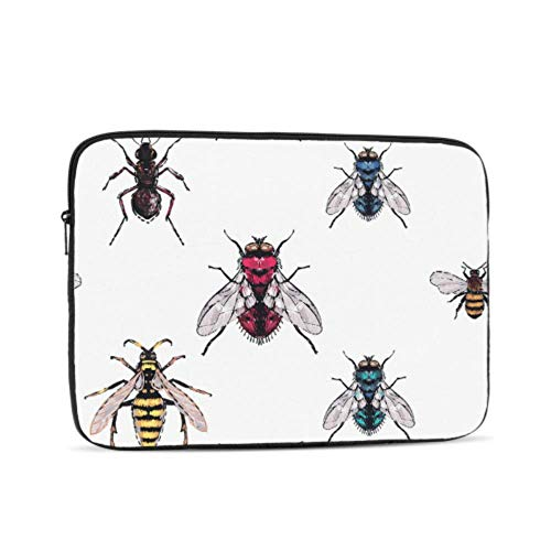 Macbook Air Skin Cartoon Summer Creative Flight Insect Mac Book Air Covers Multi-Color & Size Choices10/12/13/15/17 Inch Computer Tablet Briefcase Carrying Bag