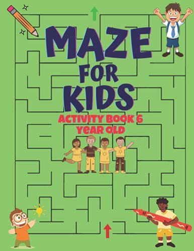 easy mazes for kids: activity book for kids