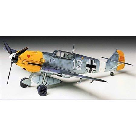 タミヤ 1/72 ウォーバードコレクション No.55 ドイツ空軍 メッサーシュミット Bf109E-4/7 TROP プラモデル ...