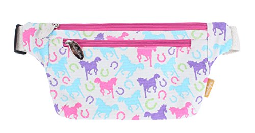 Milly Green Unisexe Playfull poneys Sac Banane, Clair, Taille Unique