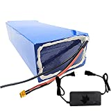SGSG 72V 20Ah 30Ah 40Ah Batería de Litio Motocicleta eléctrica Batería de Litio Recargable para Triciclo eléctrico Reemplazo de batería LiFePO4 Scooter eléctrico (con Cargador + Enchufe XT60)