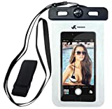 Voxkin Premium Quality Universal Waterproof Case Including Armband  Compass  Lanyard - Best Water Proof, Dustproof Bag for iPhone 12 Pro Max, 12 Mini, S21 Ultra, S20, OnePlus 8, Pixel 5