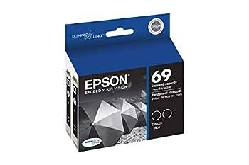 Epson 69 Black Twin Pack Ink Cartridges