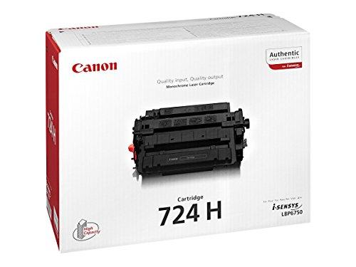 Canon 3482B002 CRG-724H Tonerkartusche schwarz hohe Kapazität 12.000 Seiten 1er-Pack
