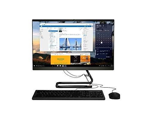 Lenovo AIO 3 IdeaCentre All in One 3, Pantalla de 23.8' Full HD, Procesador AMD Ryzen 3 4300U, 256 GB SSD, RAM 8 GB, Windows 10, Teclado y ratón USB, Color Negro