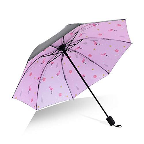 Portable 3 Folding Mini Pocket Sun Rain Umbrella Rain Women Men Anti UV Pocket Compact Umbrella Kids Umbrella Girl Gift Dropship,as picture1