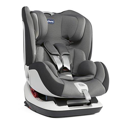 Chicco Seat Up 012, Silla de coche grupo 0+/1/2 Isofix, gris
