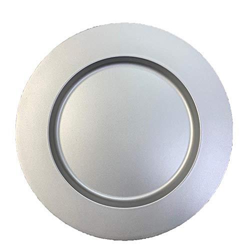 Sousplat Metalic Rafimex Prateado
