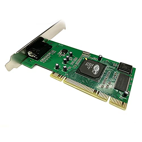 rongweiwang Tarjeta de vídeo sin Conductor del Ordenador 8 MB 32 bits de Salida gráfica Tarjeta de Interfaz PCI VGA GPU Accesorio de computadora
