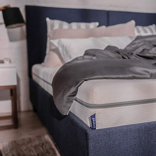 Emma Essential SUPER KING Mattress 18 cm high | Breathable and Supportive | 7 Zone Foam Mattress