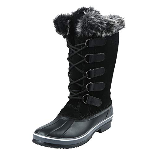 Northside Women's Kathmandu Snow Boot, Licorice, 9 Medium US