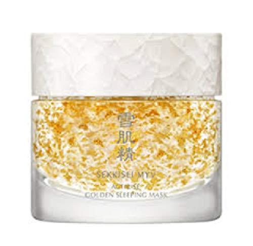 Kose SEKKISEI MYV Actirise Golden Sleeping Gel Mask Overnight Mask 100g New