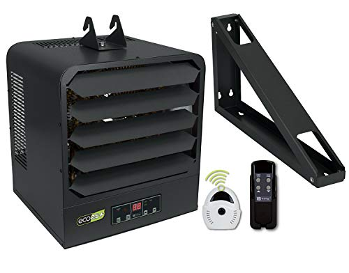 KING KB2407-1-ECO2S-PLUS 2-Stage Electronic Garage Heater w/Remote Temperature Sensor, 7.5KW / 240V