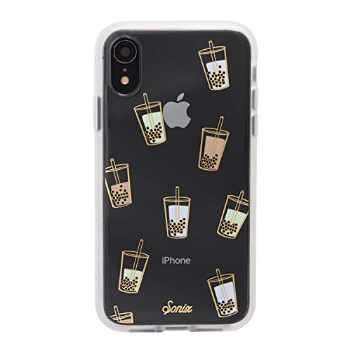 Sonix Boba Case for iPhone XR [Military Drop Test Certified] Protective Bubble Tea Clear Case for Apple iPhone XR