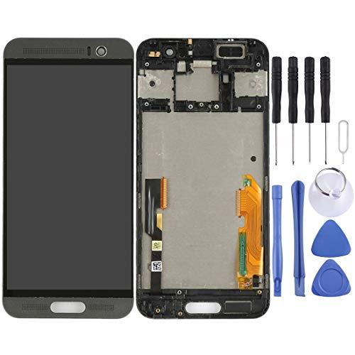 un known Reemplazo de la Vieja continúan utilizando Pantalla LCD y Montaje Completo de digitalizador con Marco para el Accesorio HTC One M9 + / M9 Plus (Color : Black)