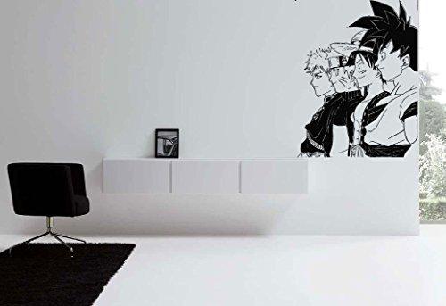 Wall Art Vinyl Room Sticker Decal Mural Anime Guys Movie Heros bo Wall Mural, Removable Sticker, Home Decor