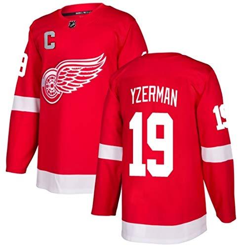 ZGRNB Herren Hockey Jersey Sweatshirt Detroit Red Wings 13 Datsyuk 14 Nyquist 71 Larkin Jersey Sportswear T-Shirt Langarm Top Weste