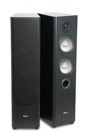 Affordable M50 Floorstanding Speaker - Black Oak