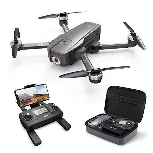 HS720. Pieghevole GPS Drone con 4k uhd. Macchina fotografica for adulti Quadcopter con motore Brushless Auto Ritorna a casa Seguimi 26 minuti Tempo di volo Lungo Intervallo di controllo Include la bor