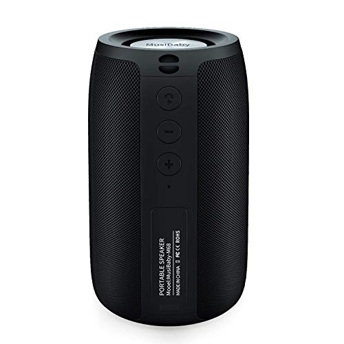 Bluetooth Speakers,MusiBaby Speaker,Outdoor, Portable,Waterproof,Wireless Speakers,Dual Pairing,...