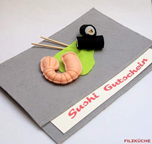 Verpackung Gutschein Tasche Restaurant Essen Geschenk
