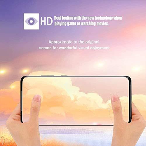 FCLTech Displayschutzfolie f/ür Galaxy S20 Ultra 4 St/ück HD Displayschutzfolie 9H H/ärte Schutzfolie Panzerglasfolie Blasenfrei Anti-Kratzen mit Samsung Galaxy S20 Ultra