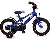 Fahrrad 14 Zoll Rücktrittbremse Ständer Stützräder Kinderfahrrad Kinderrad Mädchen Jungen Matt...