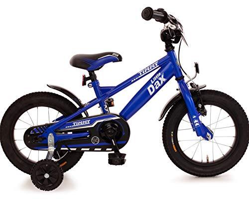 Fahrrad 14 Zoll Rücktrittbremse Ständer Stützräder Kinderfahrrad Kinderrad Mädchen Jungen Matt Blau